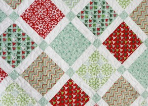 family christmas quilt