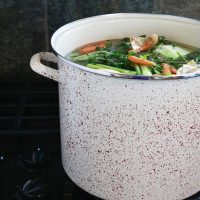 Easy Homemade Turkey Stock
