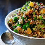 quinoa butternut squash stuffing - feature