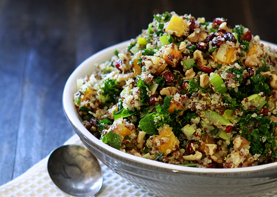 butternut squash and quinoa stuffing