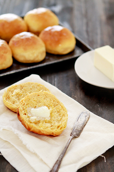 sweet potato dinner roll recipe