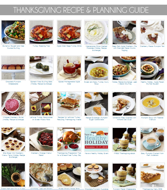 Thanksgiving Recipe and Thanksgiving Planning Guide