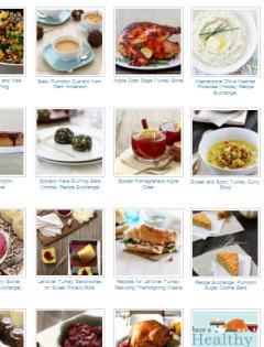 thanksgiving menu ideas