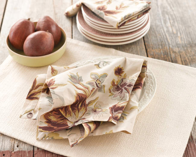 Table Linens from Pine Cone Hill