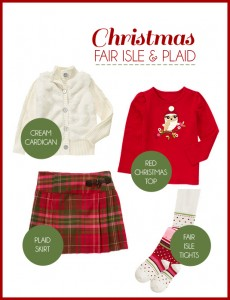 christmas fair isle and plaid gymboree giveaway