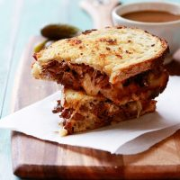 Slow Cooker French Dip Panini Recipe