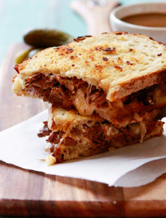French Dip Panini - Feature