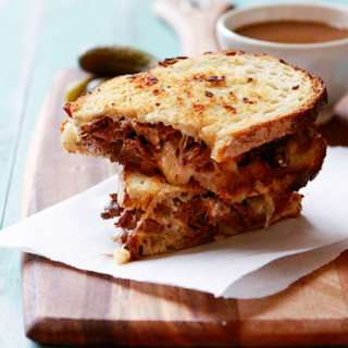 Slow Cooker French Dip Panini | Easy French Dip Recipe | Good Life ...