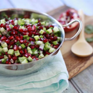 Pomegranate Winter Salsa