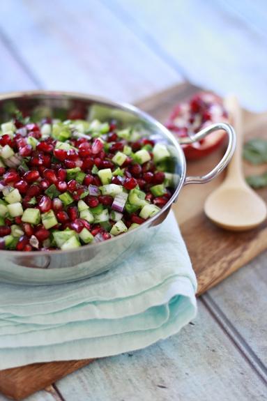 Recipe for Pomegranate Salsa - Winter Salsa