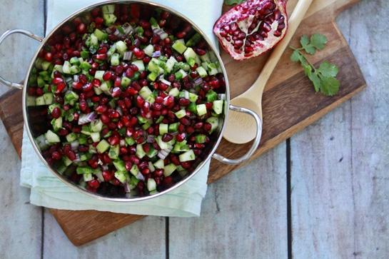 How to Make Pomegranate Salsa