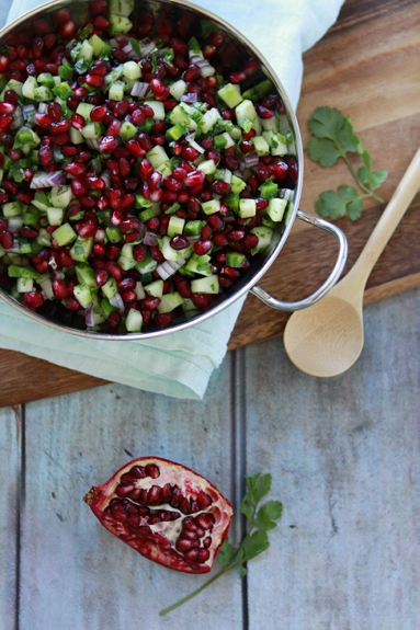 Recipe for Pomegranate Salsa