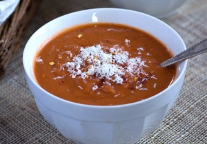 Quick & Healthy Tomato Bisque via Queen of Quinoa for Good Life Eats