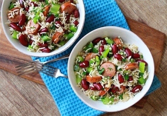 Dirty Rice with Beans and Andouille Sausage | Beans and ...