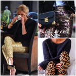 statement pants sequin brocage leopard _ glitterinc.com