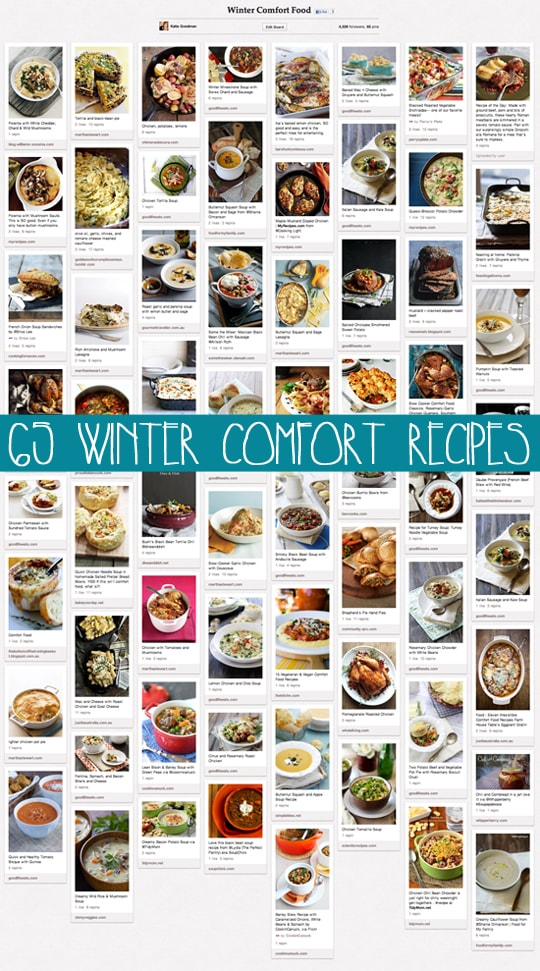 65 Winter Comfort Food Recipes
