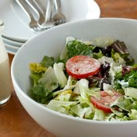 Copy Cat Olive Garden Salad and Dressing Recipe