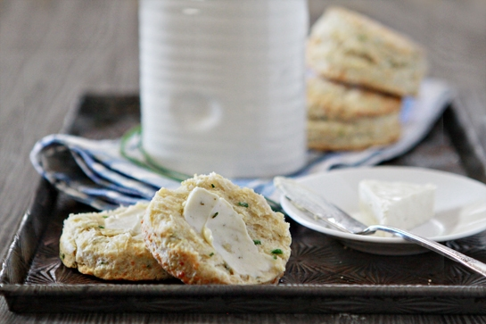 Parmesan Chive Buttermilk Biscuit Recipe