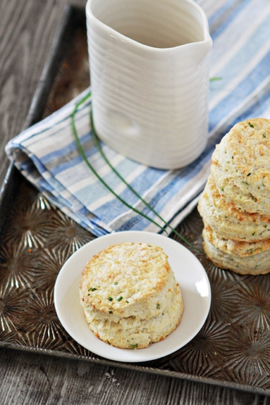 Parmesan Chive Buttermilk Biscuit Recipe