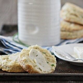 Parmesan Chive Buttermilk Biscuits