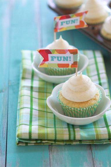 Vanilla Bean Cupcake Cream Cheese Frosting