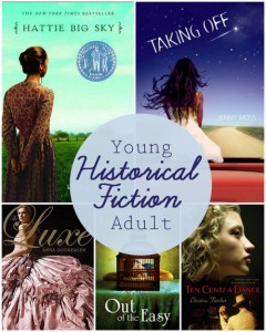 5 great YA historical fiction titles