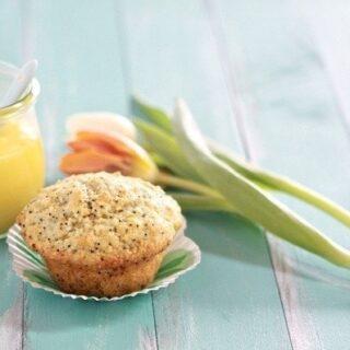 Coconut Lemon Poppy Seed Muffins