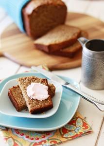 Multi-Grain Healthier Banana Bread