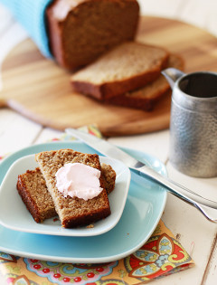 Multi-Grain Healthier Banana Bread
