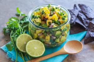 Avocado Peach Salsa Recipe