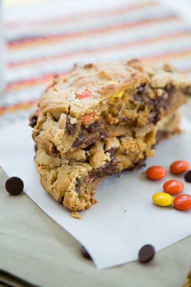 single serve peanut butter chocolate chip cookie for one