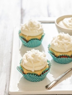 Coconut Lime Cupcake Recipe