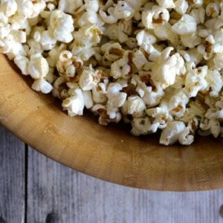 Browned Butter Rosemary Popcorn