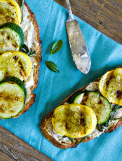 Grilled Squash Sandwich Recipe
