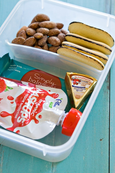 Travel Snack Box for Kids
