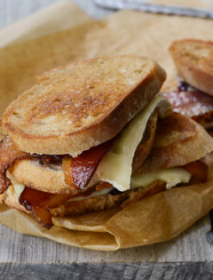 Bacon and Brie Grilled Cheese - Good Life Eats