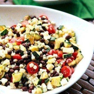 Fresh Zucchini Corn Salsa