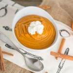 Easy Pumpkin Pudding Featured Image| chocolateandcarrots.com