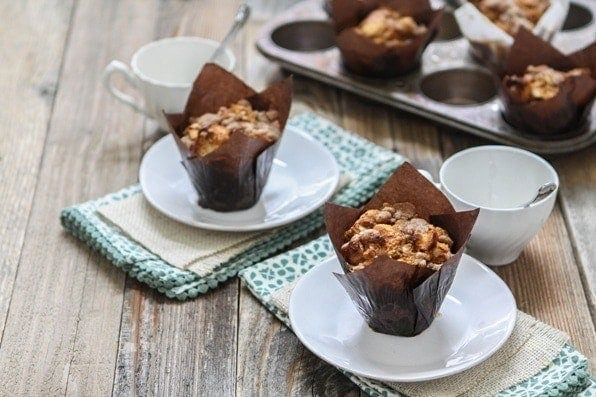 Caramel Pecan Pumpkin French Toast Muffin Cups | These Caramel Pecan Pumpkin French Toast Muffin Cups (that's a mouthful, but how else do you describe this sweet treat?) are the perfect addition to any holiday breakfast or brunch.