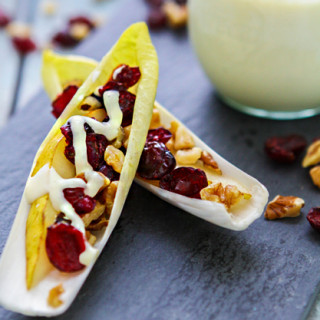 pear and endive appetizer