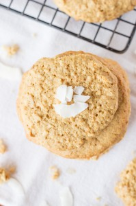 """Toasted Coconut """"Sugar"""" Cookies -- gluten-free and totally delicious!"""