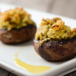 Shrimp Stuffed Portobello Mushrooms - Good Life Eats