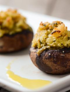 Shrimp Stuffed Portobello Mushrooms - Good Life Eats