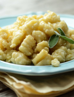 Gnocchi with Brown Butter and Sage - Good Life Eats Featured