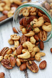 Sweet and Spicy Rosemary Bar Nuts