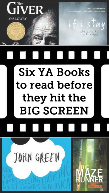 Six YA Books to read before they hit the big screen