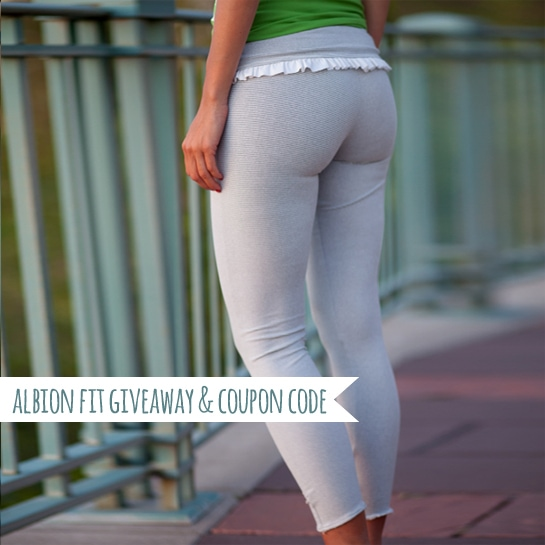albion fit coupon code and giveaway