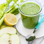 pineapple apple kale smoothie