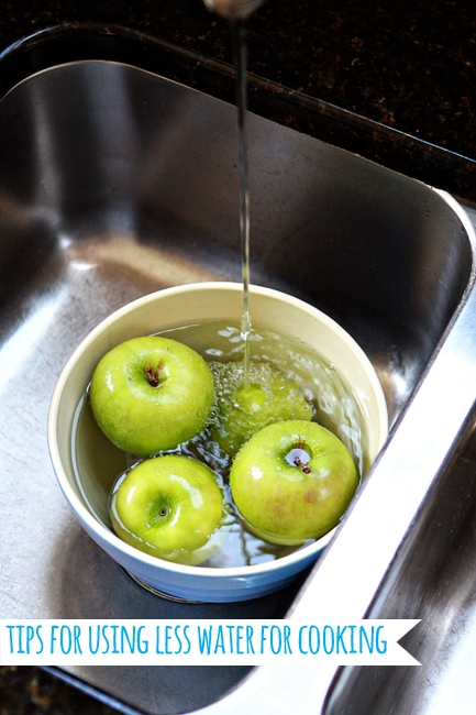 Tips for Using Less Water When Cooking