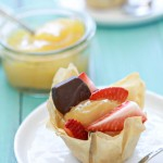 Lemon Curd and Fresh Fruit Phyllo Tarts Recipe